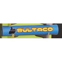 protector manillar Bultaco azul-amarillo