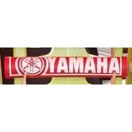 Protector manillar Yamaha rojo/blanco