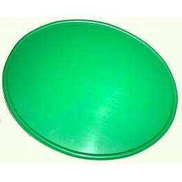 Placa portanumeros lateral/ frontal verde