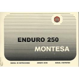 manual de despiece y usuario enduro 250