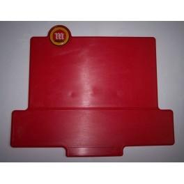 Placa frontal Montesa cota roja con logo