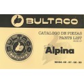Manual de taller Bultaco Alpina mod 85. 97. 98. 99