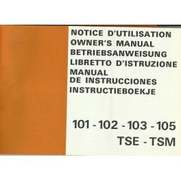 manual usuario peugeot mod 101-102-103-105