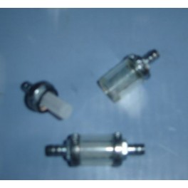 Filtro gasolina cristal grande 8mm