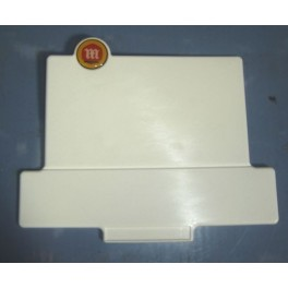 Placa frontal  blanca cota 74/ 247/ 348