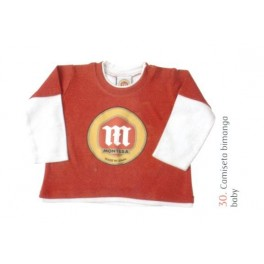 Camiseta bimanga Montesa niño T12